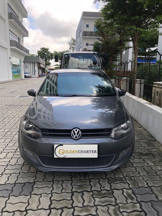 VolksWagen Polo for rental available now! Personal, Gojek Rebate, GRAB