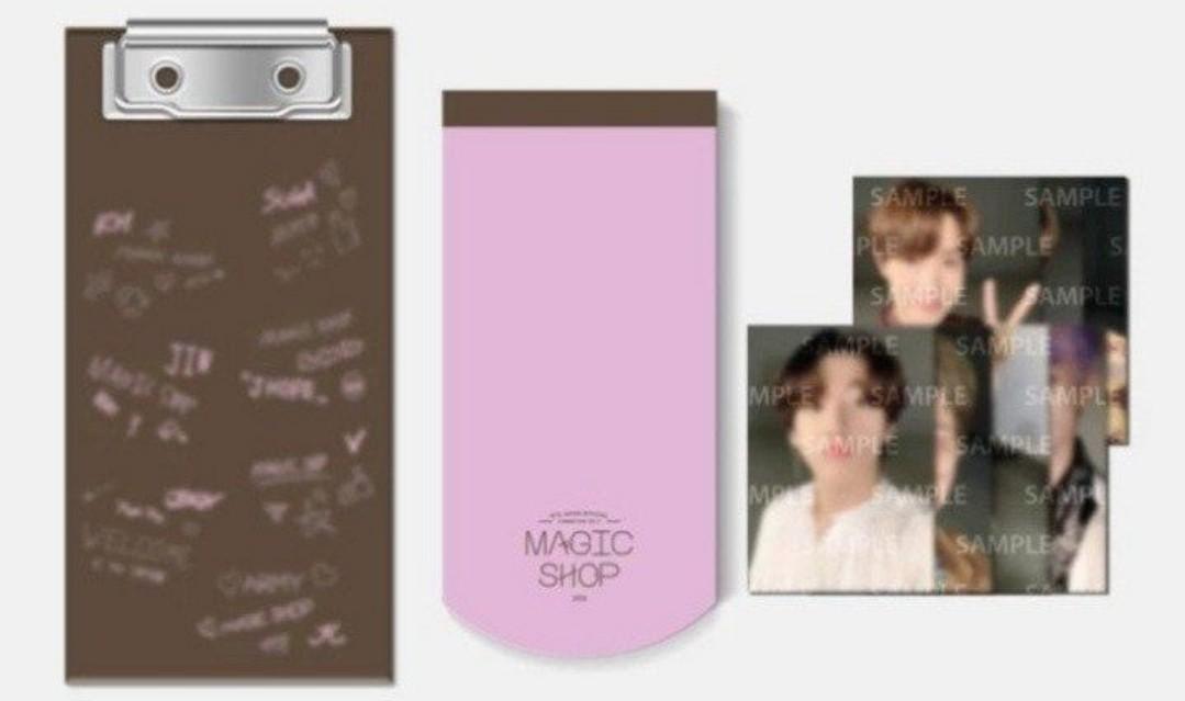 [WTS] BTS Mini clipboard photocard Japan Magic Shop