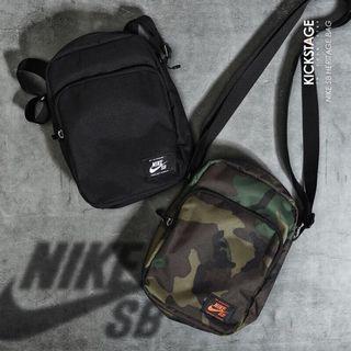 全新 Nike SB 側背包 斜背包 小包 BA5849-210迷彩