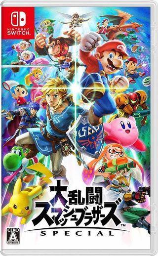 (收 )任天堂明星大亂鬥 switch遊戲片