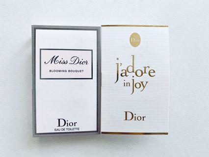 花漾迪奧淡香水+ 愉悅淡香水 針管香水