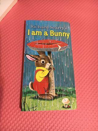 Richard Scarry's I am a Bunny 滑面 厚紙書 英文版