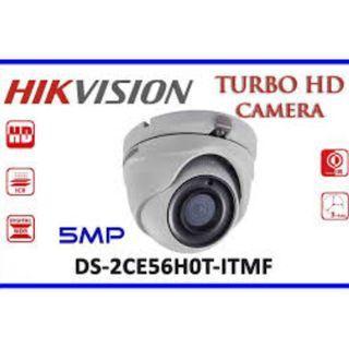 HIKVISION OEM-DS-2CE56H0T 5MP DOME-ITMF HD-TVI 2.8mm IR