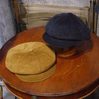 🇺🇸NEW YORK HAT美國製 復古燈芯絨軟簷帽 報童帽 全新品 男女皆可Vintage