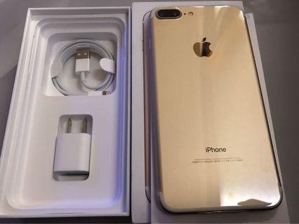 Iphone7 plus 金色 保固長 全新整新機