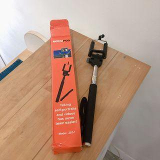 自拍棒自拍神器伸縮桿旅行用