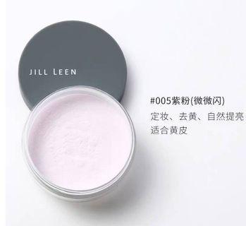 黃皮友好❤ JILL LEEN 紫粉色 裸光蜜粉 (定妝好幫手)