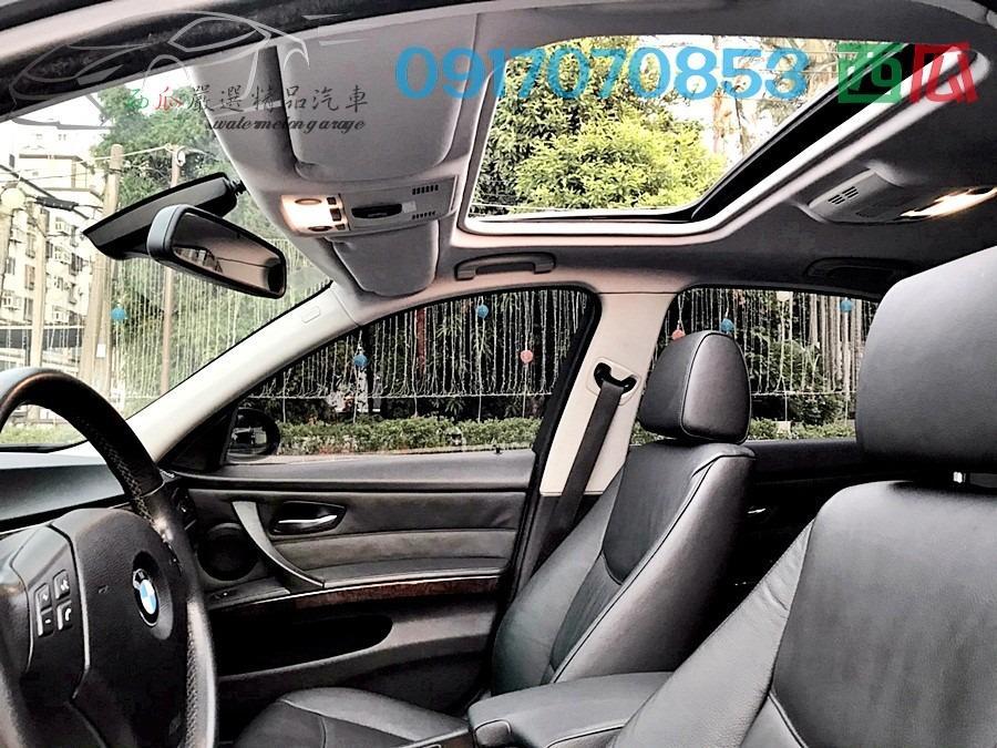 一手電子公司主管用車 2005年 BMW E90 330 少開 內外新 可超貸十萬以上 有工作98%過件率~挺你到底