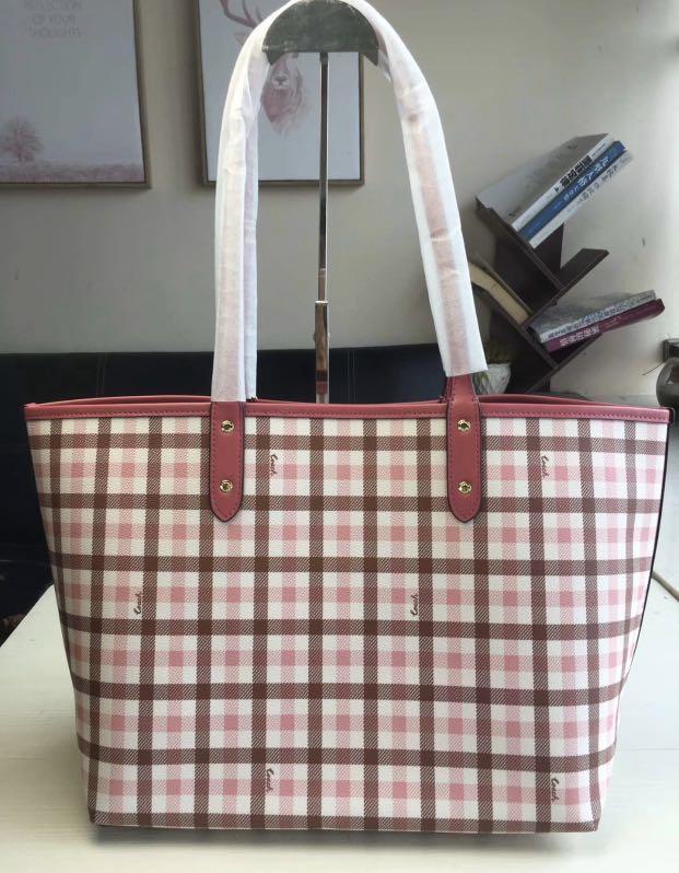 Authentic coach women reversible shoulder bag 76631 sling bag shoulder totes