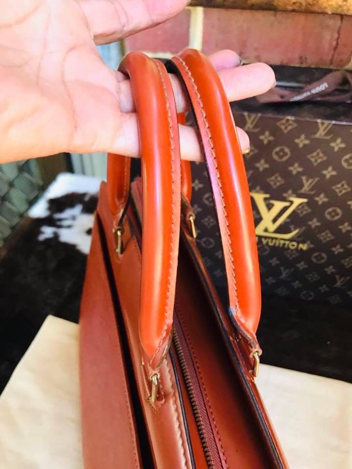 Authentic Vintage Louis Vuitton Riviera Epi Browns