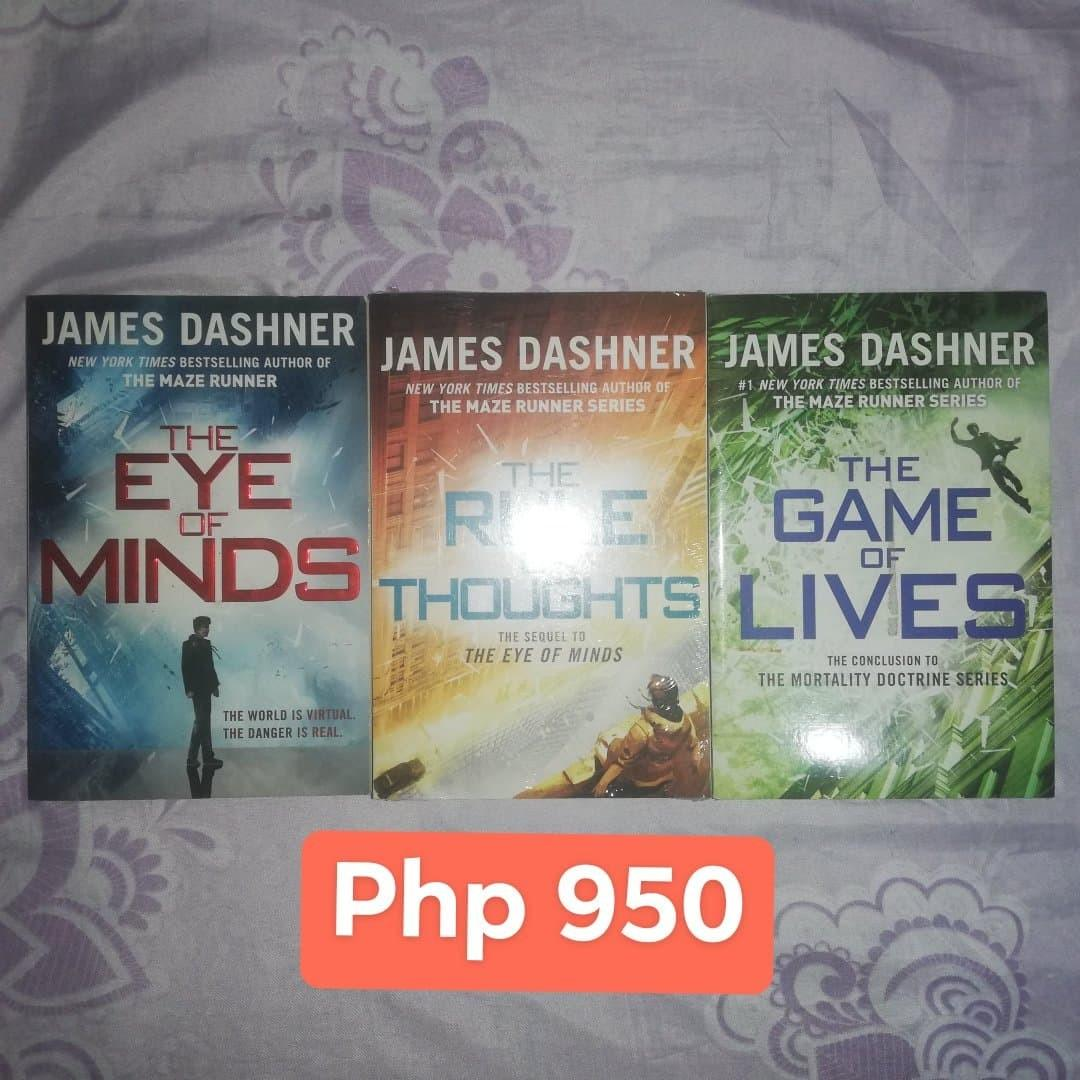 Books - Mortality Doctrine by James Dashner, The Future of Us by Jay Asher & Carolyn Mackler, The Six Rules of Maybe by Deb Caletti