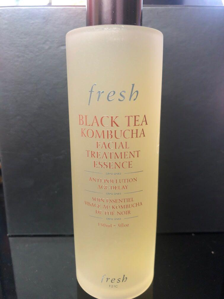 Brand New Fresh Black Tea Kombucha Facial Treatment Essence