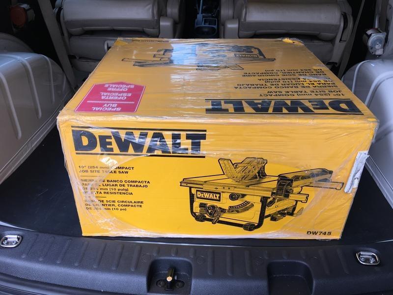 Dewalt DW745 10inch 桌鋸 現貨供應中 免運費