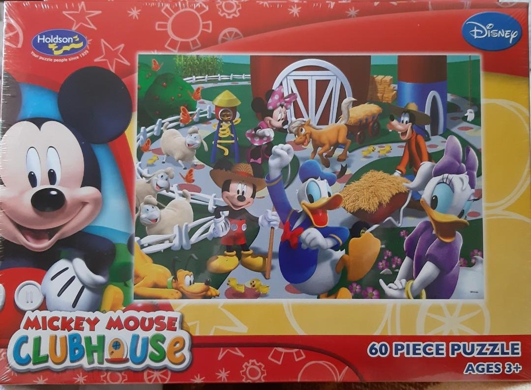 Farmyard Friends - Mickey Mouse Clubhouse 60pc Puzzle