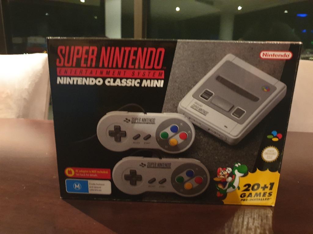 Genuine SNES Mini Classic USED LIKE NEW Australian Model
