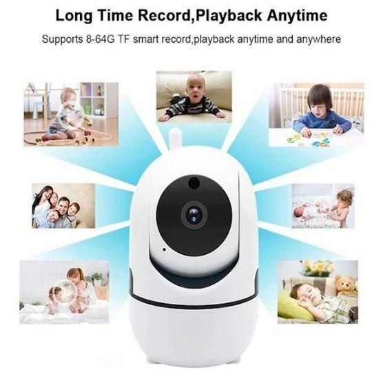 Home CCTV HP 1080P WIFI security IP Camera wireless Baby monitor Pet motion detect night vision 360