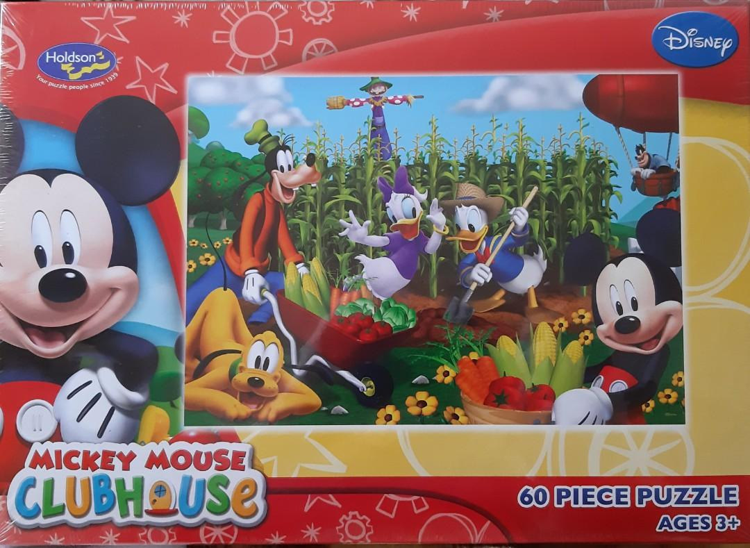 It's Harvest Time - Mickey Mouse Clubhouse 60pc Puzzle