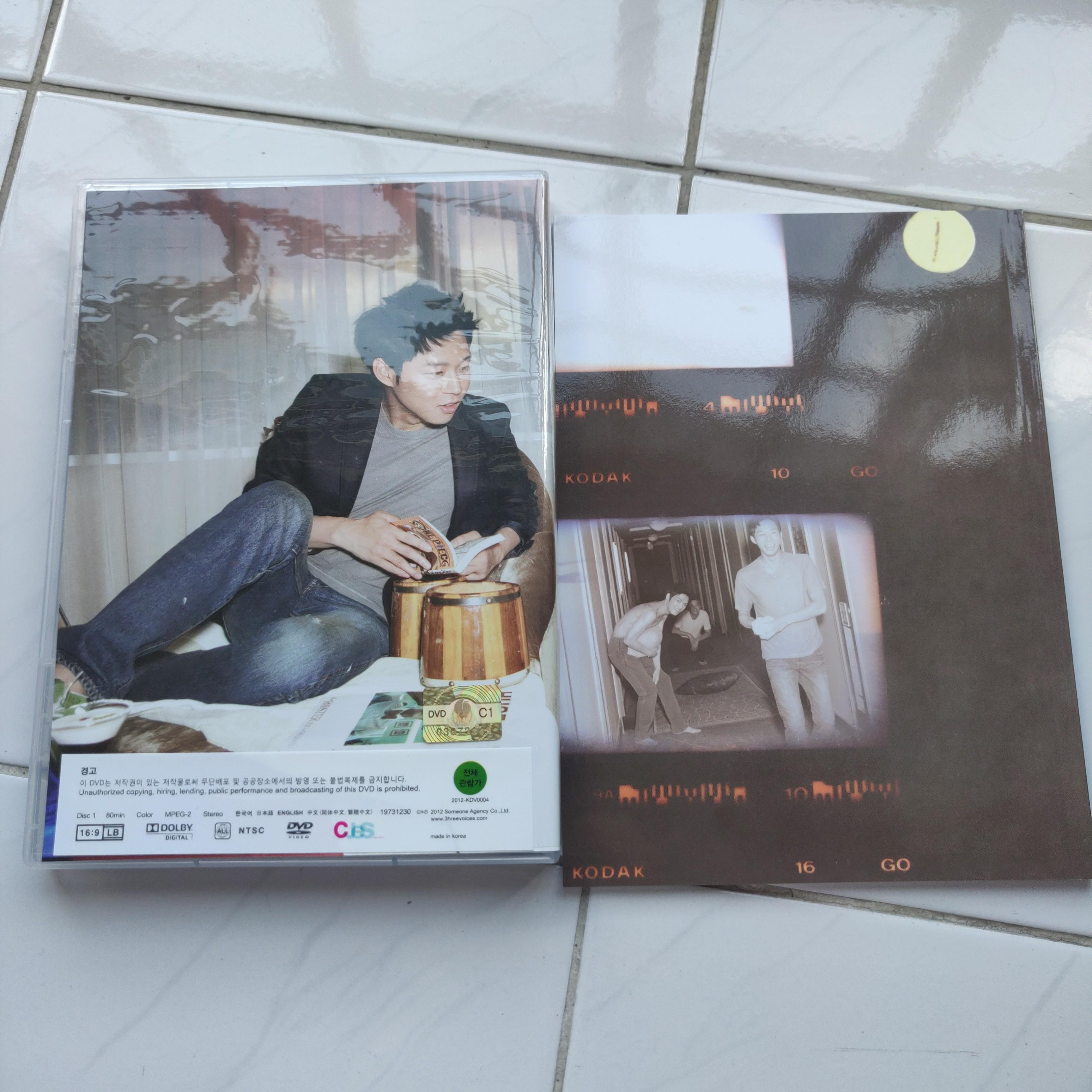 JYJ PRIVATE PROJECT COME ON OVER DIRECTOR'S CUT DVD