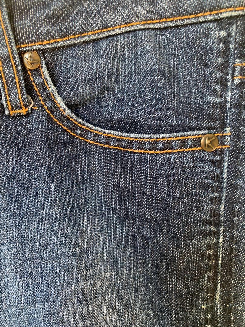 Kookai - Blue Jeans - Size 38, For Size 10 Excellent Condition