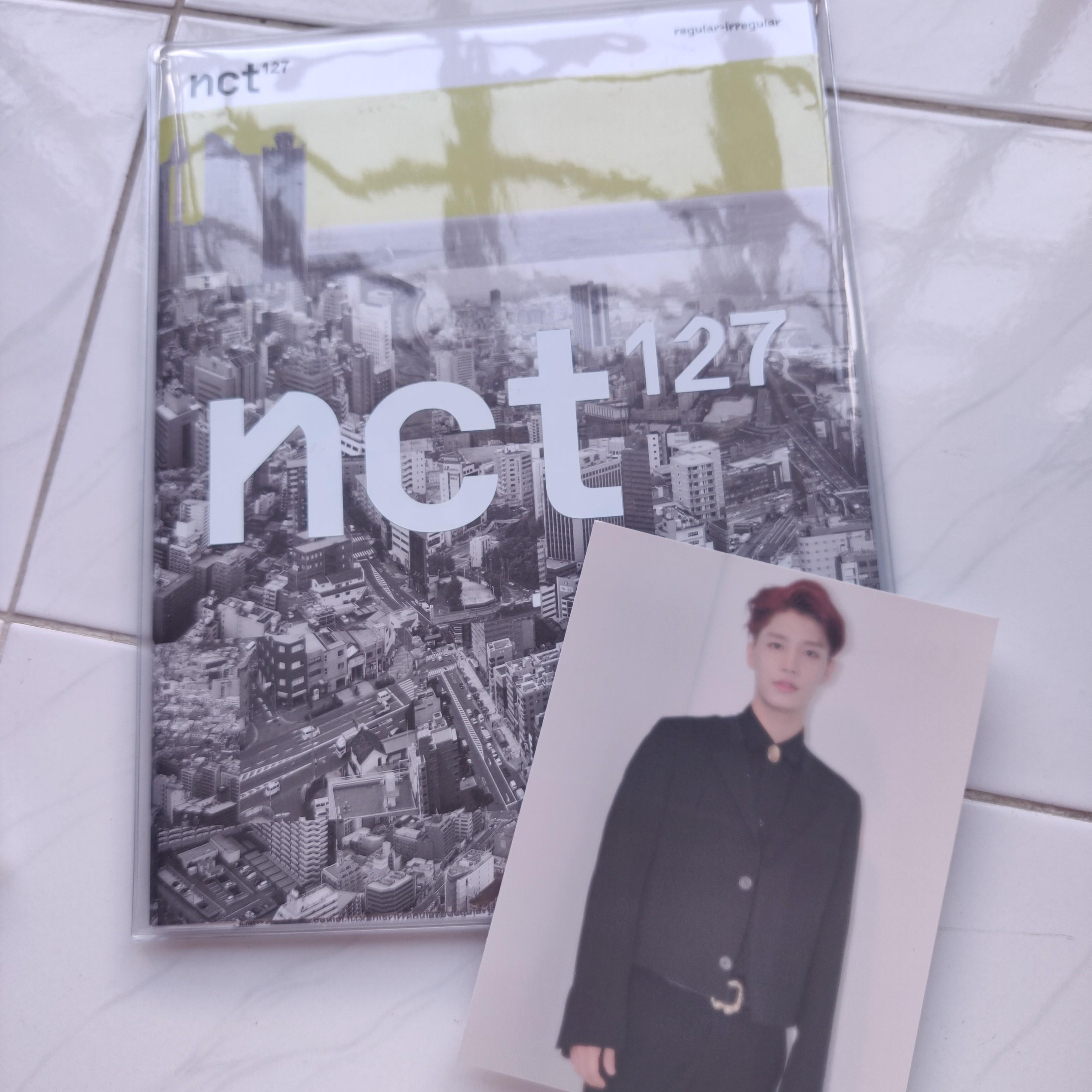 [PRICE REDUCED!] NCT 127 1st ALBUM REGULAR-IRREGULAR REGULAR VERSION