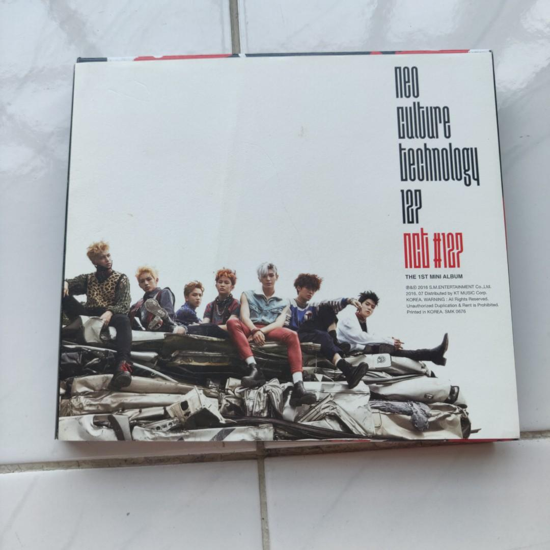 [PRICE REDUCED] NCT 127 NEO CULTURE TECHNOLOGY THE 1ST MINI ALBUM FIRE TRUCK