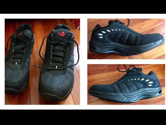 NEW Chung Shi Stafild BLACK Rocker Toning Walking Shoes