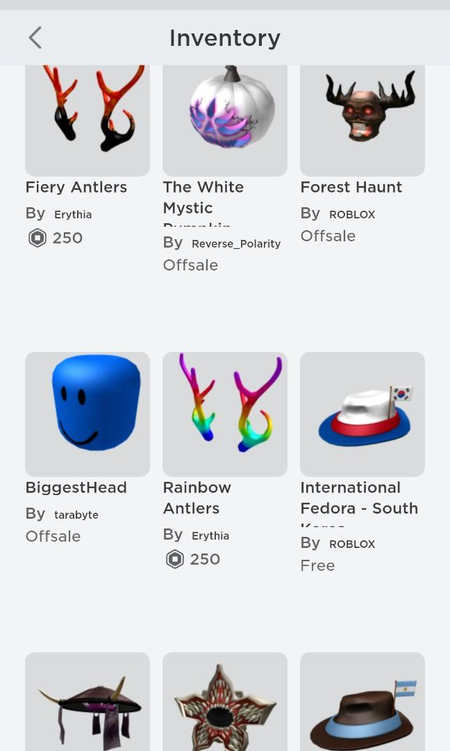 Roblox Account Toys Games Video Gaming Video Games On Carousell