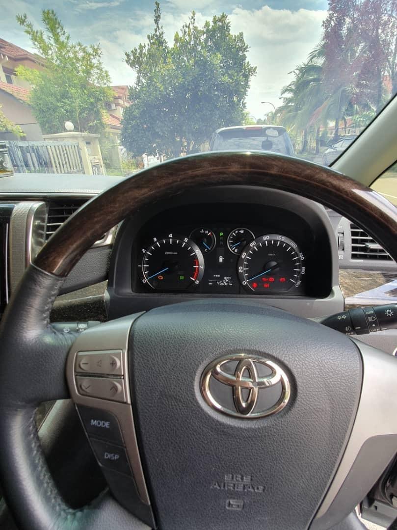 SEWA BELI>>Toyota Vellfire 2.4(A) Pilot Seat 2012/2018
