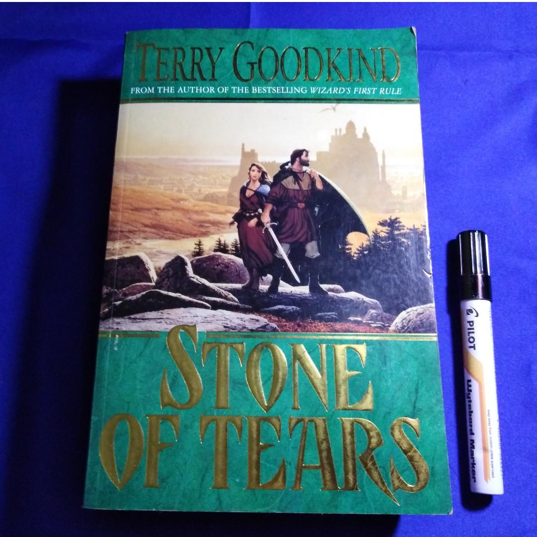 Stone of Tears by Terry Goodkind (Book #2, Sword of Truth Series)
