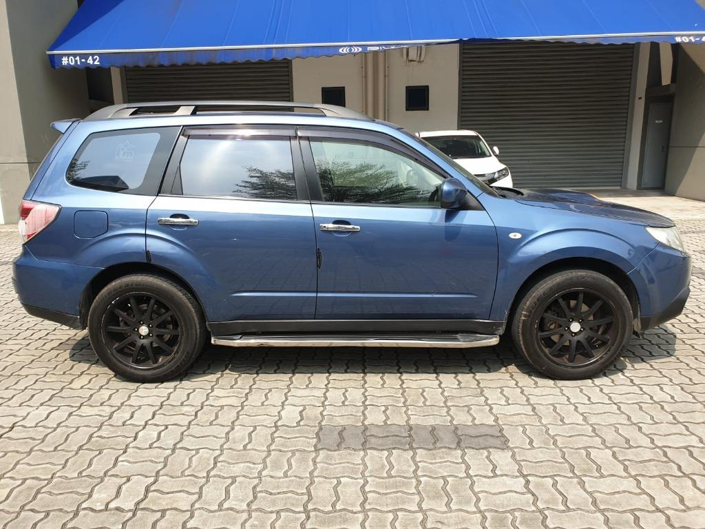 Subaru Forester 2.0A @ Most affordable rates! Just $500 to drive off!