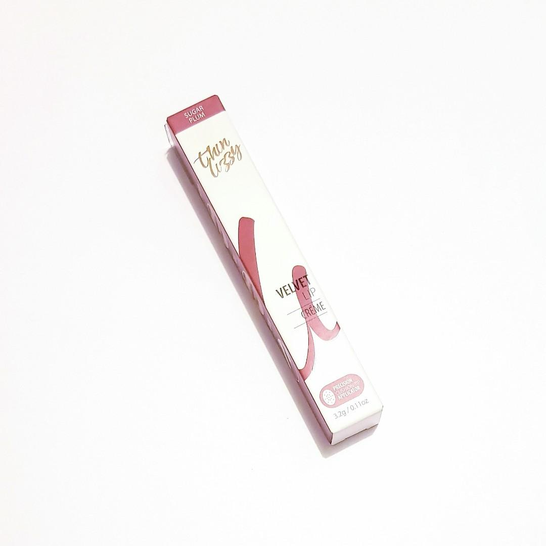 Thin Lizzy Sugar Plum Velvet Rich Highly Pigmented Tinted Precision Lip Creme Pen