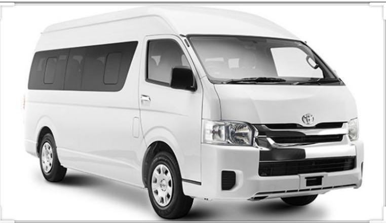 Toyota Combi 13 seaters/ Changi Airport to Hotel / Singapore