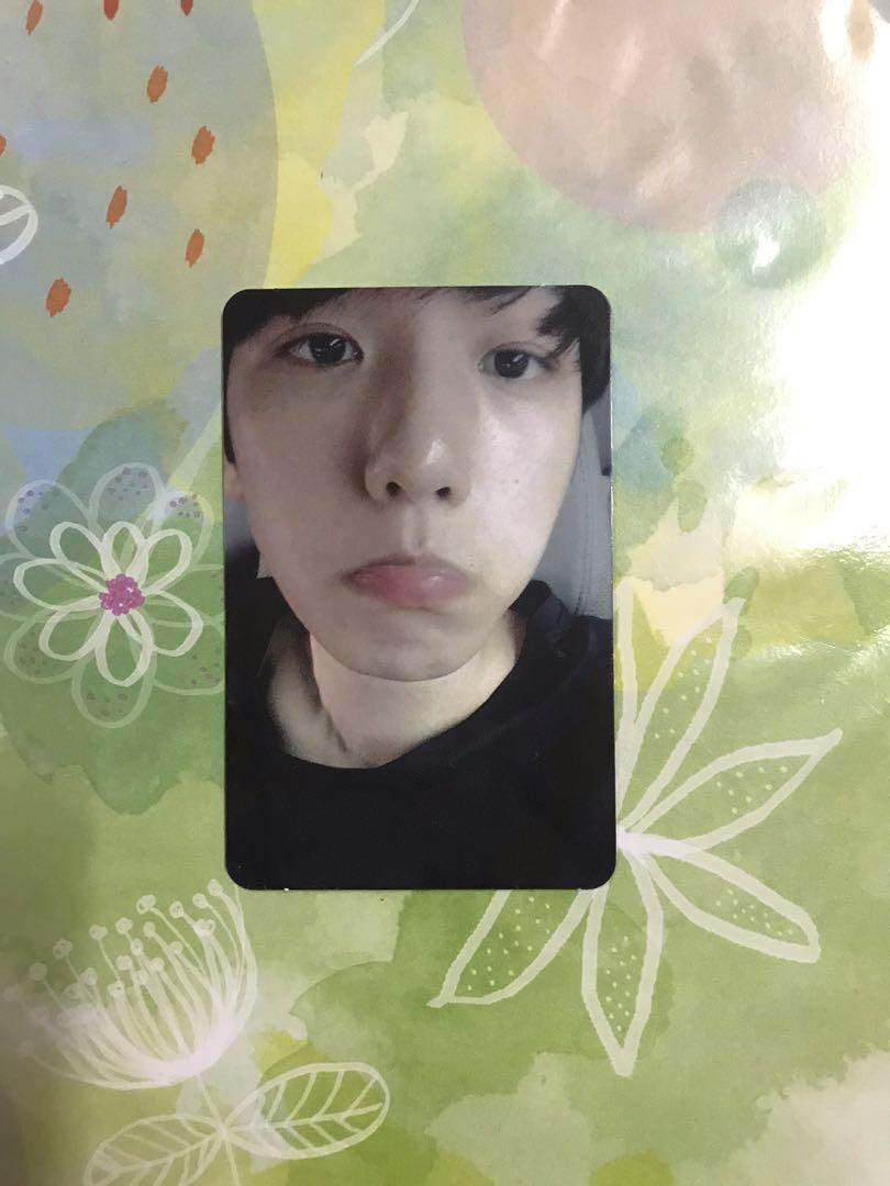 [WTS] EXO BAEKHYUN EX'ACT PHOTOCARD LUCKY ONE VERSION