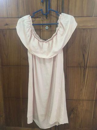 cotton on sabrina pink dress