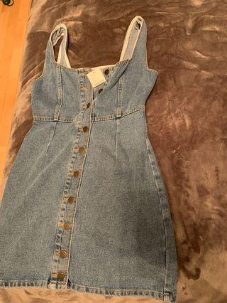 Urban outfitters denim dress
