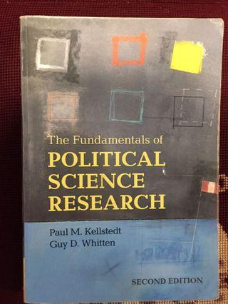 Political science research: second edition