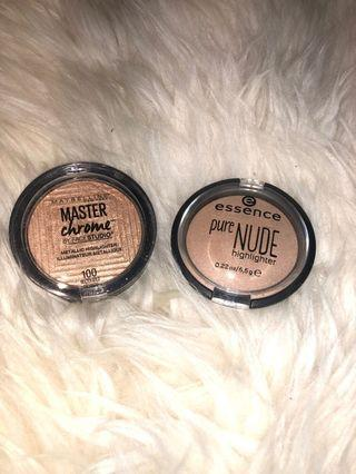 Maybelline And Essence Highlighter