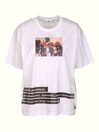 訂製版 BURBERRY舞會人物油畫T恤 (M)