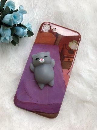 Softcase iphone 7 -squishy