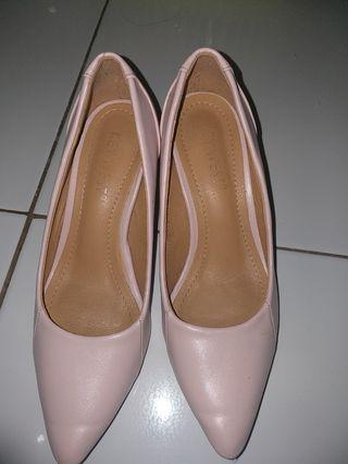 Pink soft shoes