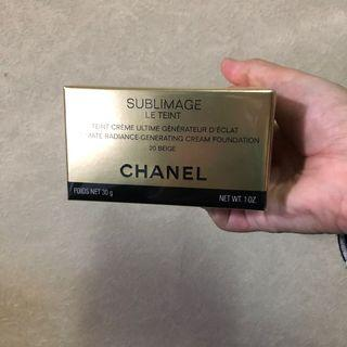 香奈兒 奢華晶鑽賦活粉底乳霜 粉底霜 Chanel 色號20 粉底