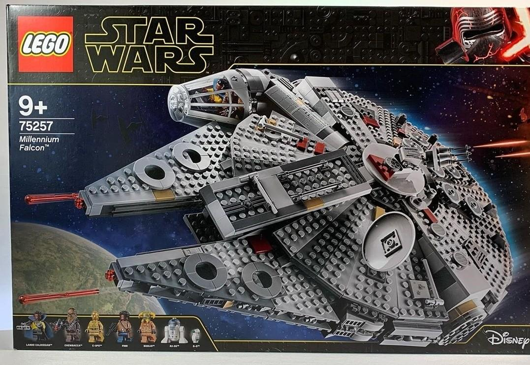 75257 Lego Star Wars The Rise Of Skywalker Millennium Falcon Starship Toys Games Bricks Figurines On Carousell