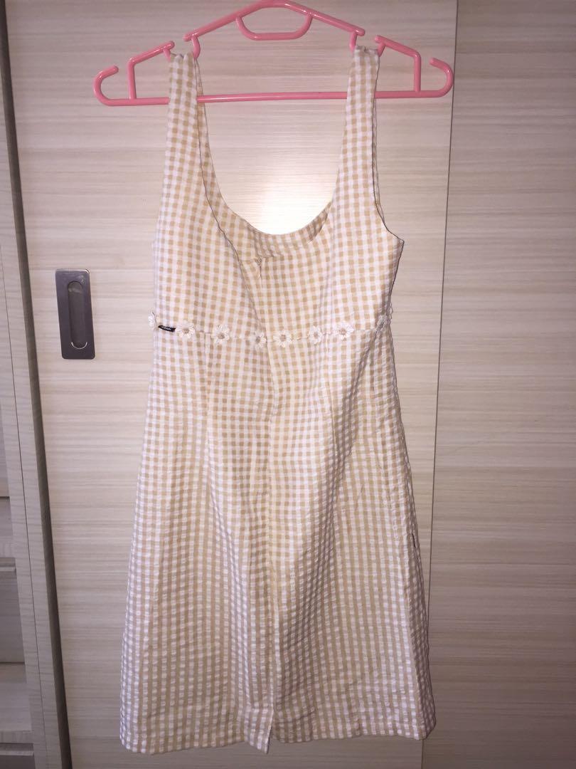 Afends Brigitte Gingham Mini Dress - negotiable !!