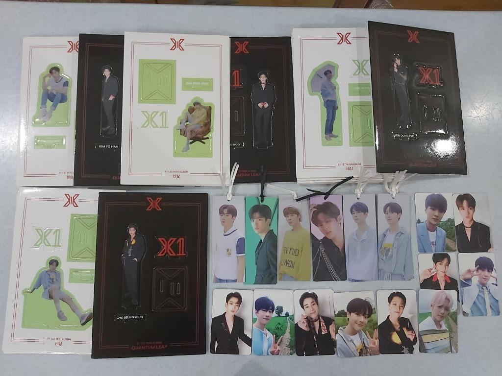 [Arrived - 2nd Batch Pre-Order] X1 QUANTUM LEAP Album Photocard / Bookmark / Standee