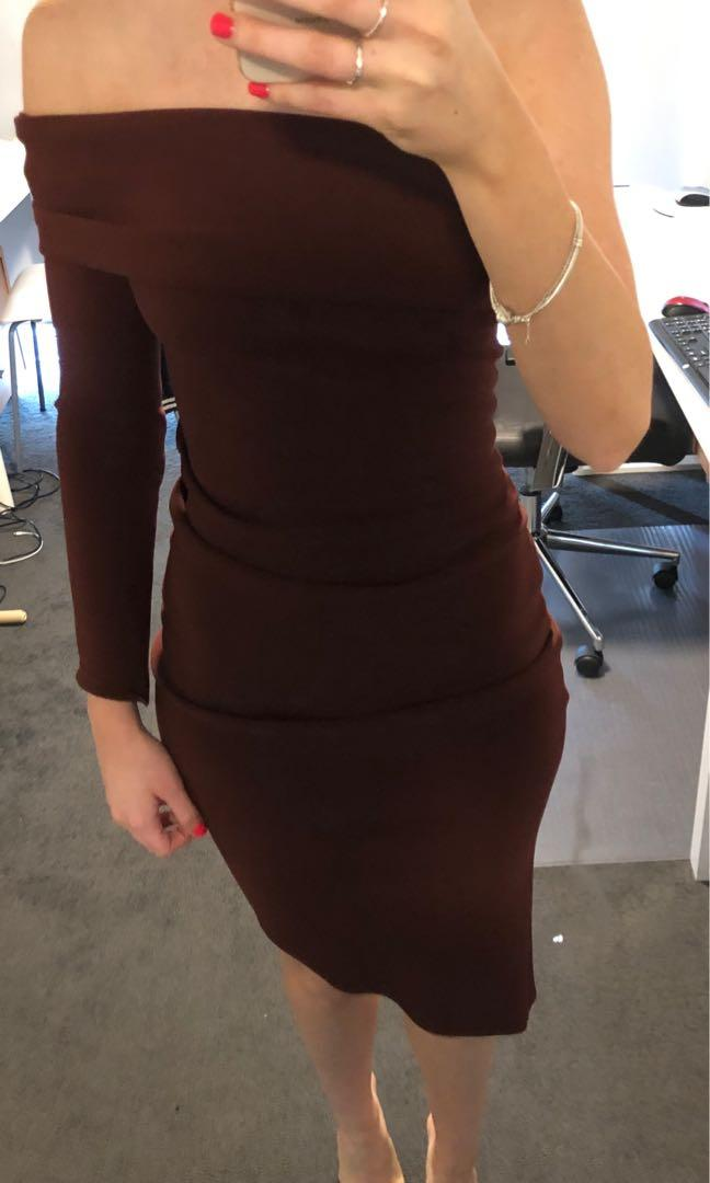 Bec and Bridge Love Ruler dress in Deep Rouge NEW WITH TAGS (RRP$220)