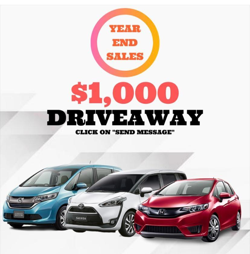 Brand New Japanese And Continental Cars Warehouse Clearance Sale!