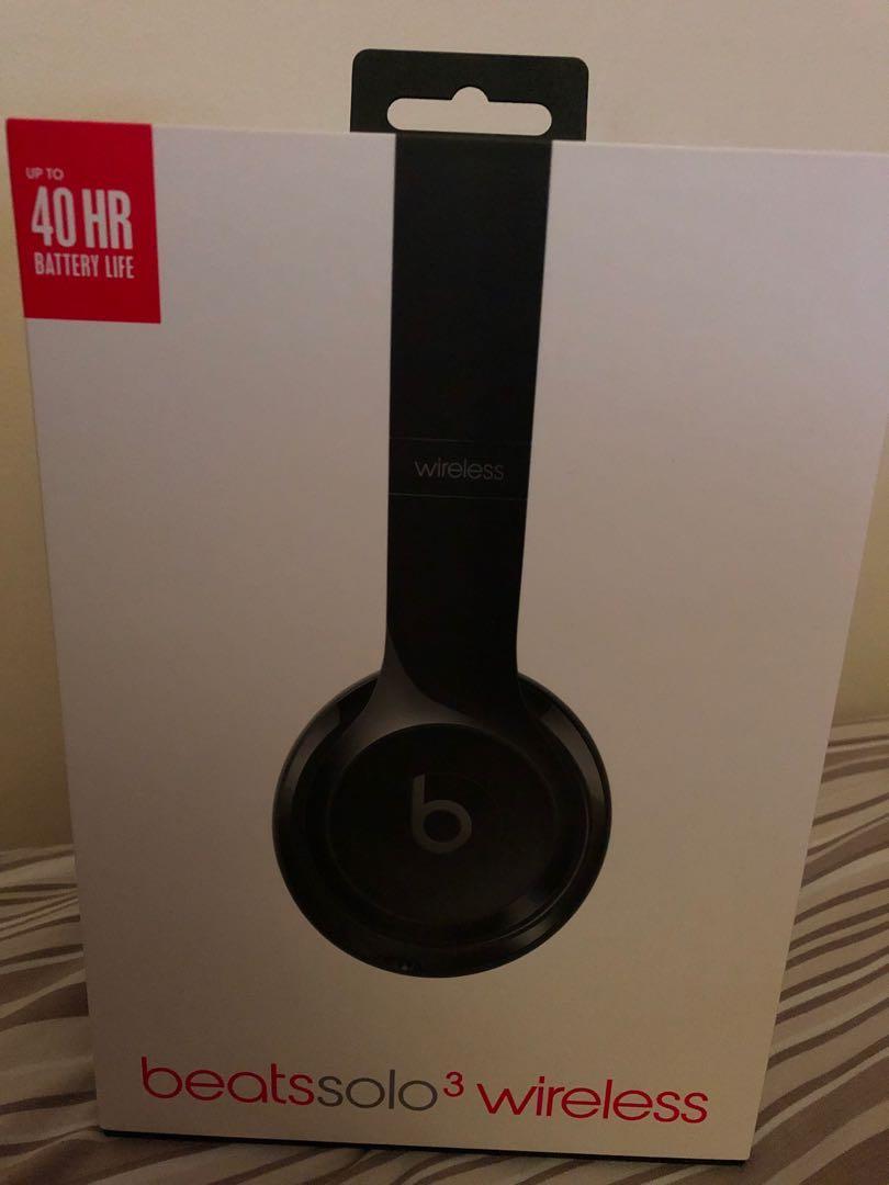 Brand New Legit Authentic Beats Audio Solo 3 Wireless