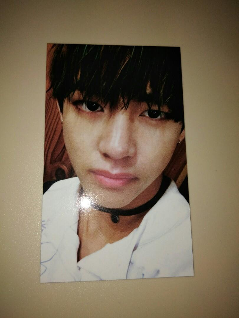 [BTS] V The Most Beautiful Moment In Life Pt.2 Official Photocard