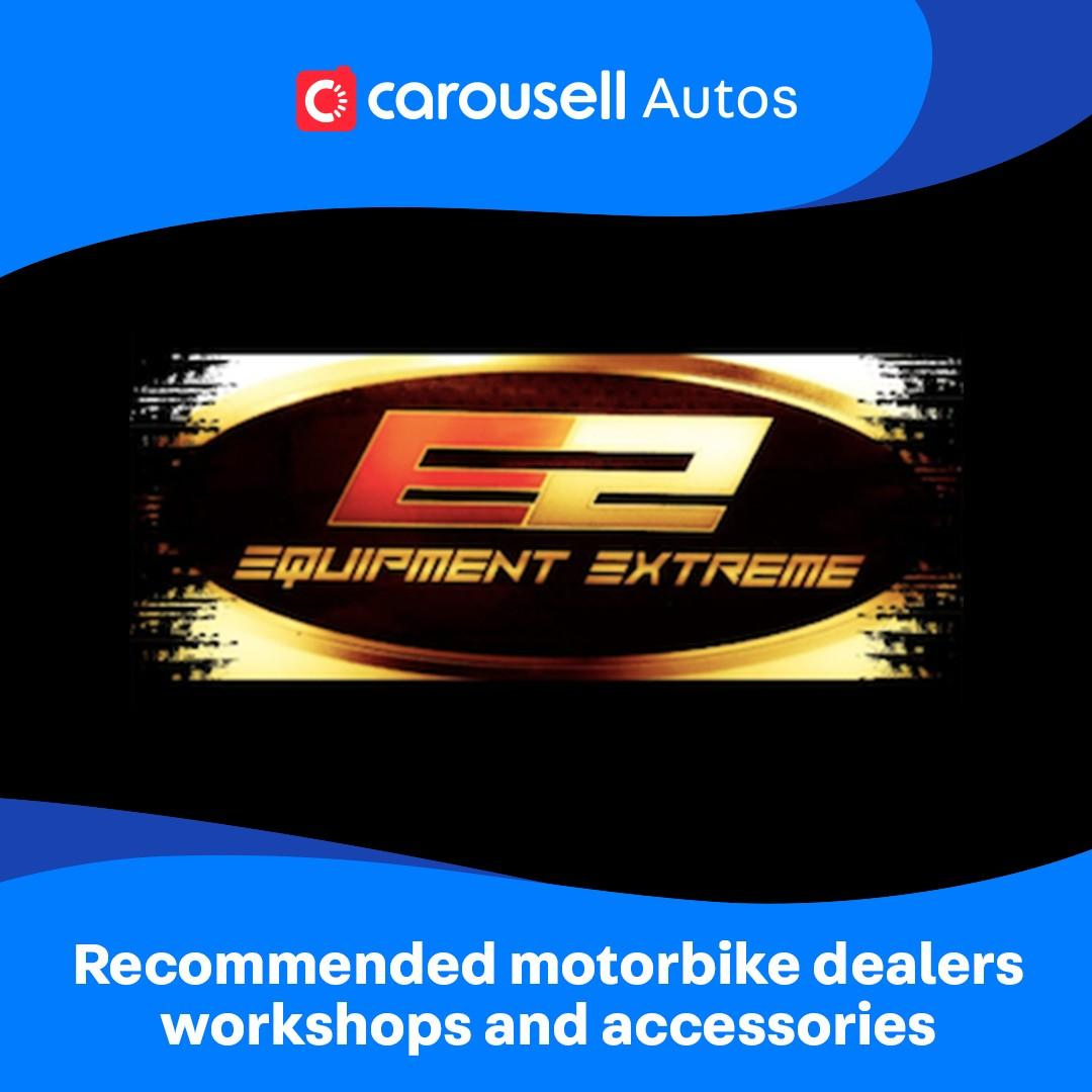 Equipment Extreme - Recommended Motorbike Dealers, workshops and accessories.