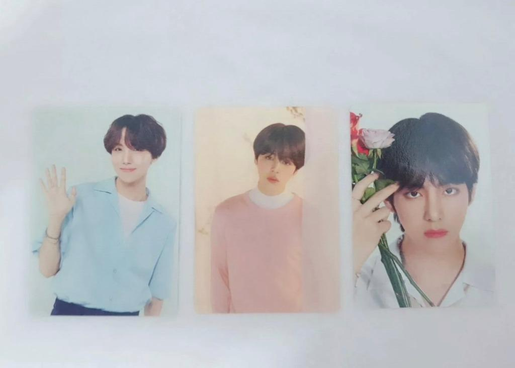 J-HOPE Mini Photocard - BTS Love Yourself Concert Official Md